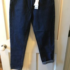 Boohoo Jeans - Dark Blue NWT Boohoo High Waisted Mom Jeans